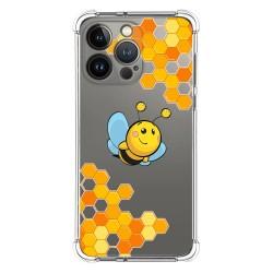 Funda Silicona Antigolpes compatible con Iphone 13 Pro (6.1) diseño Abeja Dibujos