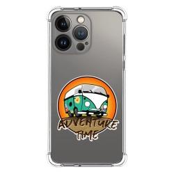 Funda Silicona Antigolpes compatible con Iphone 13 Pro (6.1) diseño Adventure Time Dibujos