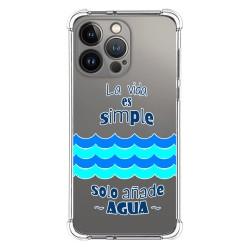 Funda Silicona Antigolpes compatible con Iphone 13 Pro (6.1) diseño Agua Dibujos