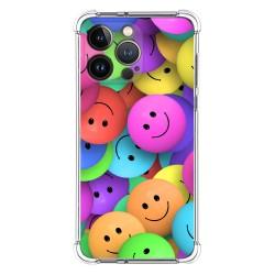 Funda Silicona Antigolpes compatible con Iphone 13 Pro (6.1) diseño Smile Dibujos