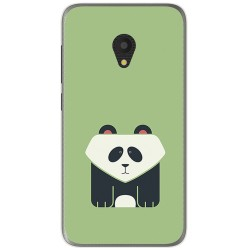 Funda Gel Tpu para Alcatel U5 (4G) / Orange Rise 52 Diseño Panda Dibujos