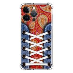 Funda Silicona Antigolpes compatible con Iphone 13 Pro (6.1) diseño Zapatillas 10 Dibujos