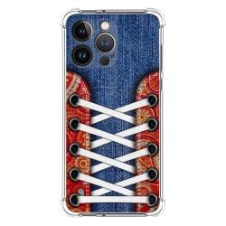 Funda Silicona Antigolpes compatible con Iphone 13 Pro (6.1) diseño Zapatillas 11 Dibujos