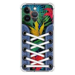 Funda Silicona Antigolpes compatible con Iphone 13 Pro (6.1) diseño Zapatillas 12 Dibujos