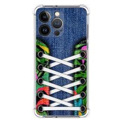 Funda Silicona Antigolpes compatible con Iphone 13 Pro (6.1) diseño Zapatillas 13 Dibujos