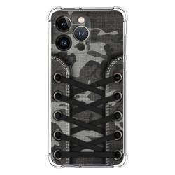 Funda Silicona Antigolpes compatible con Iphone 13 Pro (6.1) diseño Zapatillas 15 Dibujos