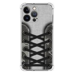 Funda Silicona Antigolpes compatible con Iphone 13 Pro (6.1) diseño Zapatillas 16 Dibujos