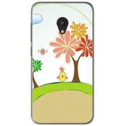 Funda Gel Tpu para Alcatel U5 (4G) / Orange Rise 52 Diseño Primavera Dibujos