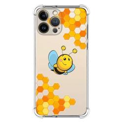 Funda Silicona Antigolpes compatible con Iphone 13 Pro Max (6.7) diseño Abeja Dibujos