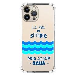 Funda Silicona Antigolpes compatible con Iphone 13 Pro Max (6.7) diseño Agua Dibujos