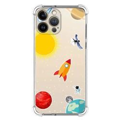 Funda Silicona Antigolpes compatible con Iphone 13 Pro Max (6.7) diseño Espacio Dibujos