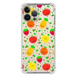 Funda Silicona Antigolpes compatible con Iphone 13 Pro Max (6.7) diseño Frutas 01 Dibujos