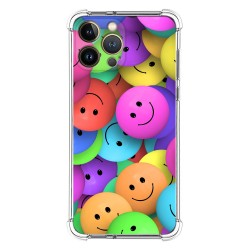 Funda Silicona Antigolpes compatible con Iphone 13 Pro Max (6.7) diseño Smile Dibujos