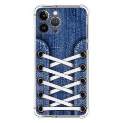 Funda Silicona Antigolpes compatible con Iphone 13 Pro Max (6.7) diseño Zapatillas 01 Dibujos