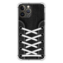 Funda Silicona Antigolpes compatible con Iphone 13 Pro Max (6.7) diseño Zapatillas 02 Dibujos
