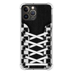 Funda Silicona Antigolpes compatible con Iphone 13 Pro Max (6.7) diseño Zapatillas 03 Dibujos