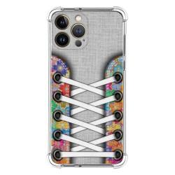 Funda Silicona Antigolpes compatible con Iphone 13 Pro Max (6.7) diseño Zapatillas 04 Dibujos