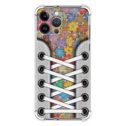 Funda Silicona Antigolpes compatible con Iphone 13 Pro Max (6.7) diseño Zapatillas 05 Dibujos