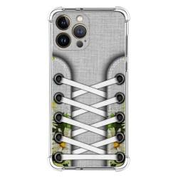 Funda Silicona Antigolpes compatible con Iphone 13 Pro Max (6.7) diseño Zapatillas 08 Dibujos