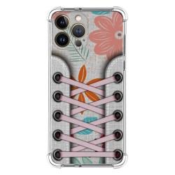 Funda Silicona Antigolpes compatible con Iphone 13 Pro Max (6.7) diseño Zapatillas 09 Dibujos