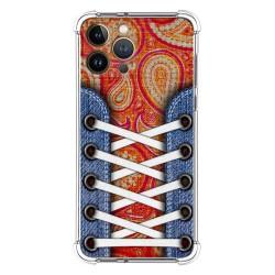 Funda Silicona Antigolpes compatible con Iphone 13 Pro Max (6.7) diseño Zapatillas 10 Dibujos