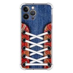 Funda Silicona Antigolpes compatible con Iphone 13 Pro Max (6.7) diseño Zapatillas 11 Dibujos