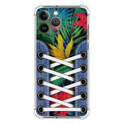 Funda Silicona Antigolpes compatible con Iphone 13 Pro Max (6.7) diseño Zapatillas 12 Dibujos