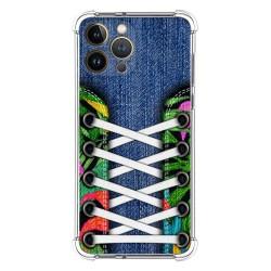 Funda Silicona Antigolpes compatible con Iphone 13 Pro Max (6.7) diseño Zapatillas 13 Dibujos