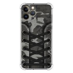 Funda Silicona Antigolpes compatible con Iphone 13 Pro Max (6.7) diseño Zapatillas 15 Dibujos