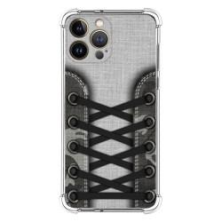 Funda Silicona Antigolpes compatible con Iphone 13 Pro Max (6.7) diseño Zapatillas 16 Dibujos