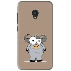 Funda Gel Tpu para Alcatel U5 (4G) / Orange Rise 52 Diseño Toro Dibujos