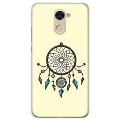 Funda Gel Tpu para Huawei Y7 Diseño Atrapasueños Dibujos