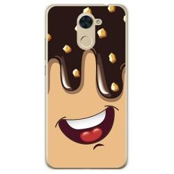 Funda Gel Tpu para Huawei Y7 Diseño Helado Chocolate Dibujos