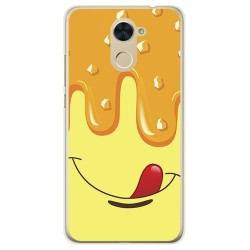 Funda Gel Tpu para Huawei Y7 Diseño Helado Vainilla Dibujos