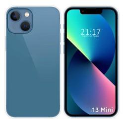 Funda Silicona Gel TPU Transparente compatible con Iphone 13 Mini (5.4)