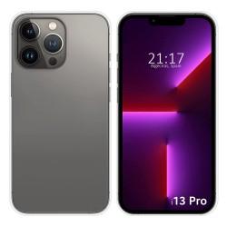 Funda Silicona Gel TPU Transparente compatible con Iphone 13 Pro (6.1)