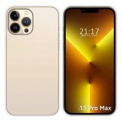 Funda Silicona Gel TPU Transparente compatible con Iphone 13 Pro Max (6.7)