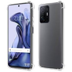 Funda Silicona Antigolpes Transparente para Xiaomi 11T 5G / 11T Pro 5G