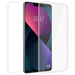 Funda Doble Transparente Pc + Tpu Full Body 360 compatible con Iphone 13 (6.1)