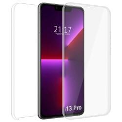 Funda Doble Transparente Pc + Tpu Full Body 360 compatible con Iphone 13 Pro (6.1)
