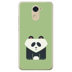 Funda Gel Tpu para Huawei Y7 Diseño Panda Dibujos