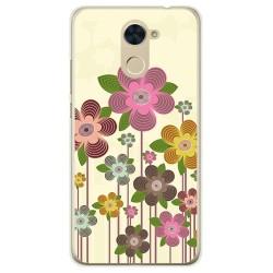 Funda Gel Tpu para Huawei Y7 Diseño Primavera En Flor  Dibujos