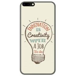 Funda Gel Tpu para Leagoo M7 Diseño Creativity Dibujos