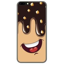 Funda Gel Tpu para Leagoo M7 Diseño Helado Chocolate Dibujos