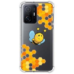 Funda Silicona Antigolpes para Xiaomi 11T 5G / 11T Pro 5G diseño Abeja Dibujos