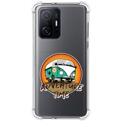 Funda Silicona Antigolpes para Xiaomi 11T 5G / 11T Pro 5G diseño Adventure Time Dibujos
