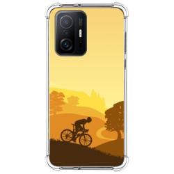 Funda Silicona Antigolpes para Xiaomi 11T 5G / 11T Pro 5G diseño Ciclista Dibujos