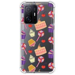 Funda Silicona Antigolpes para Xiaomi 11T 5G / 11T Pro 5G diseño Dulces 01 Dibujos