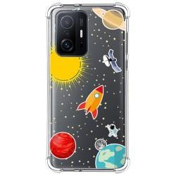 Funda Silicona Antigolpes para Xiaomi 11T 5G / 11T Pro 5G diseño Espacio Dibujos