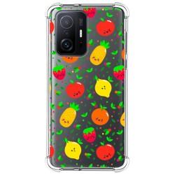 Funda Silicona Antigolpes para Xiaomi 11T 5G / 11T Pro 5G diseño Frutas 01 Dibujos